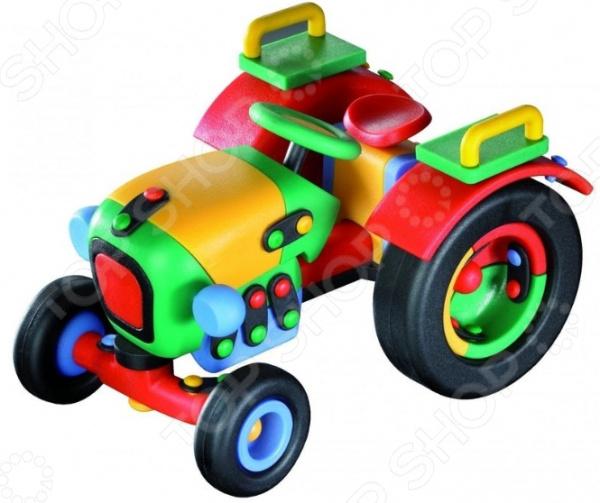 Конструктор игровой Mic-o-mic Трактор малый mic o mic конструктор автомобиль гоночный малый