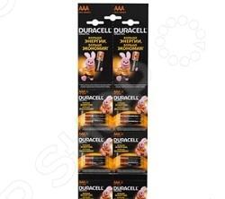 Набор батареек щелочных Duracell LR03-2BL Basic батарейка duracell lr03 2bl basic б0026812