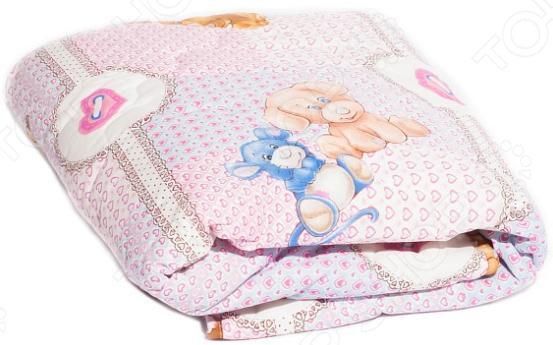 Одеяло детское Dream Time классическое «Медвежонок и зайка»