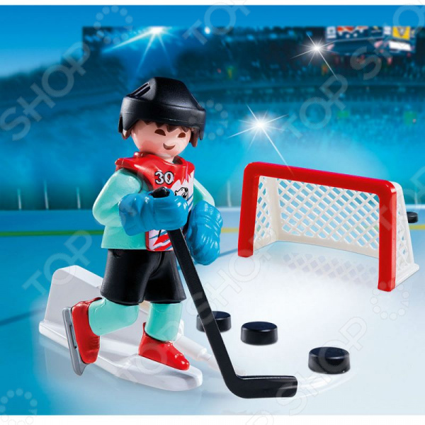 Конструктор игровой Playmobil «Экстра-набор: Тренировка хоккей» playmobil экстра набор ди джей 5377