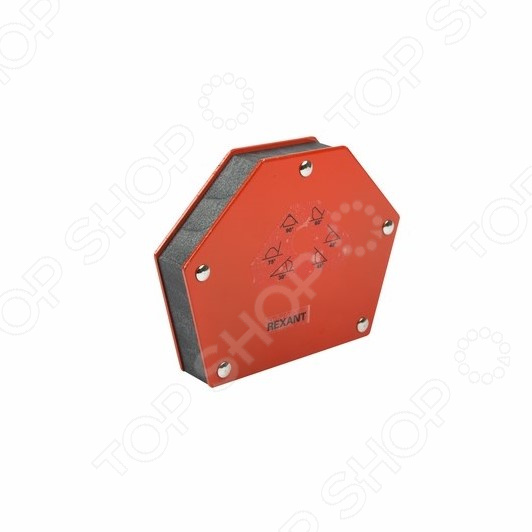 Угольник-держатель магнитный для сварки Rexant 12-4833 угольник магнитный wester wmc25