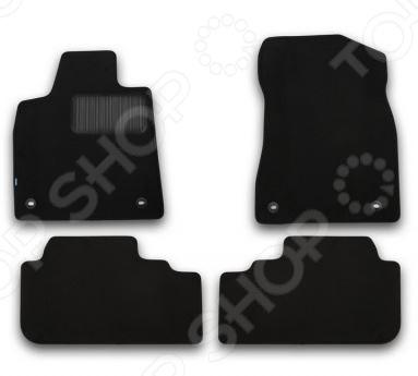 Комплект ковриков в салон автомобиля Klever Lexus RX 350 2015 Premium комплект ковриков в салон автомобиля novline autofamily lexus rc 350 2015 pu