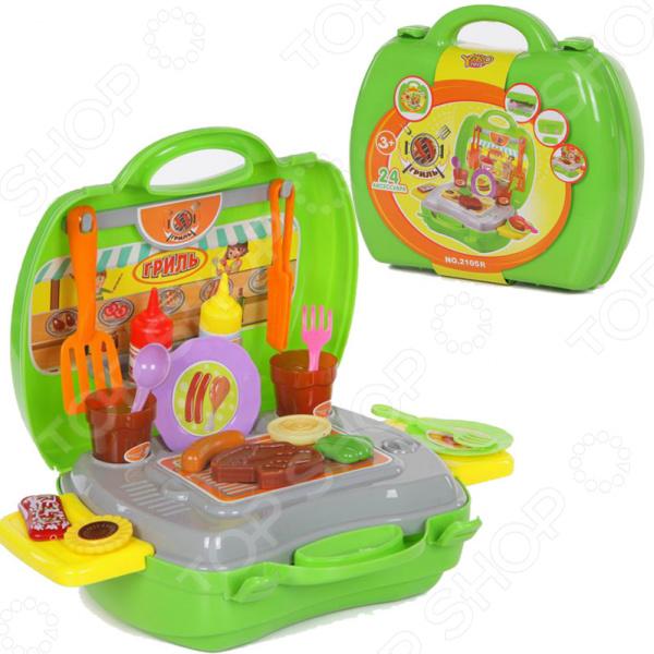 Игровой набор для ребенка Yako «Гриль» yako toys игровой набор 3 в 1 я автодизайнер