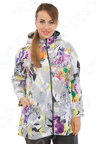 Куртка Лауме-Лайн «Вилен». Цвет: сиреневый