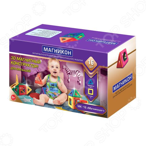 Конструктор для малышей Магникон «Магникоша» МК-16