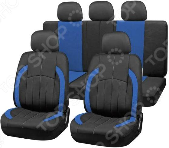 Набор чехлов для сидений SKYWAY Forsage «Боковые полосы»