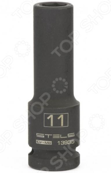 Головка шестигранная ударная удлиненная STELS owen гигантская стрелка hf 8722409 шестигранный ключ девять комплектов удлиненная мяч метрические