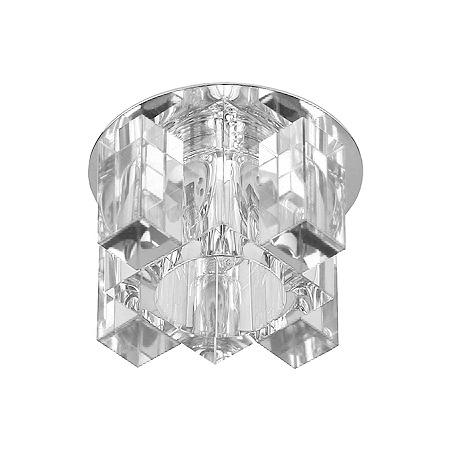 Купить Светильник потолочный светодиодный Эра DK63 CH/WH