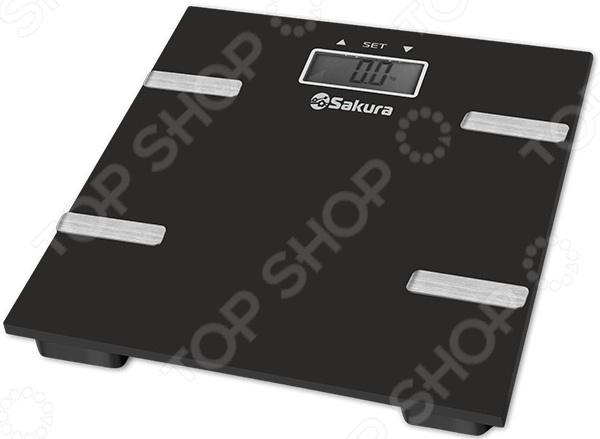 Весы Sakura SA-5073BK весы напольные sakura sa 5000 6