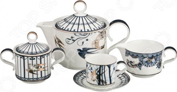 Кофейный сервиз Lefard 22-1061 набор для лепки фантазер студия керамики кофейный сервиз 218003
