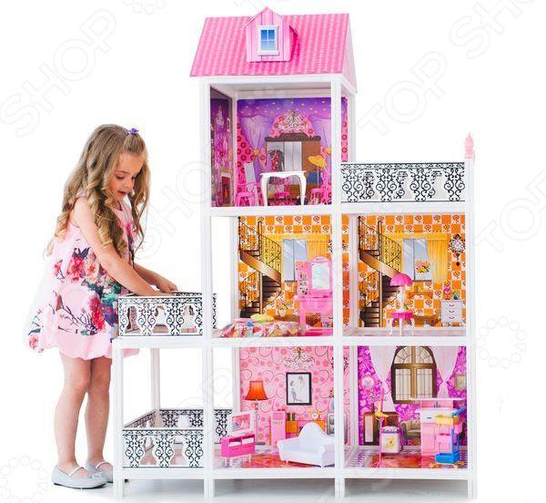 Кукольный дом с аксессуарами PAREMO PPCD116-04