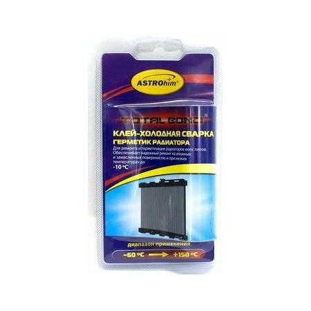 Купить Клей-холодная сварка герметик радиатора Астрохим ACT-9392