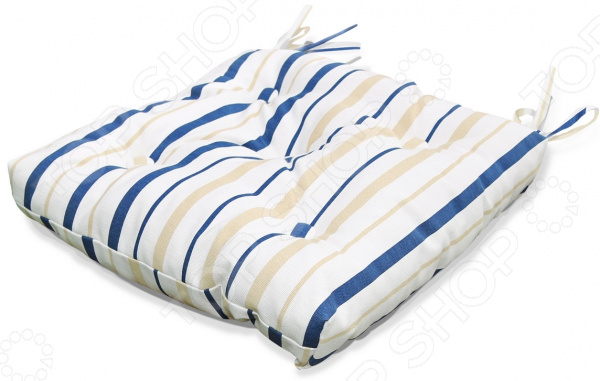Подушка на стул Kauffort Blue Rain
