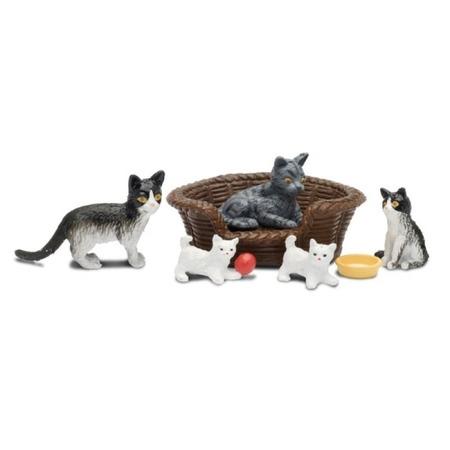 Купить Игрушечные животные для кукольного домика Lundby «Кошачья семья»