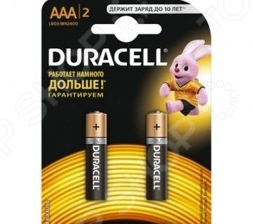 Набор батареек щелочных Duracell LR03-2BL Basic CN aaa батарейка duracell basic cn lr03 2bl 2 шт