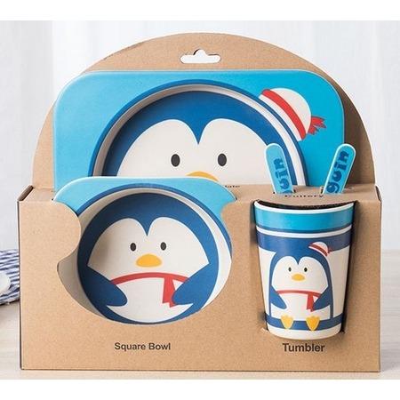 Купить Набор посуды для детей «Пингвин»