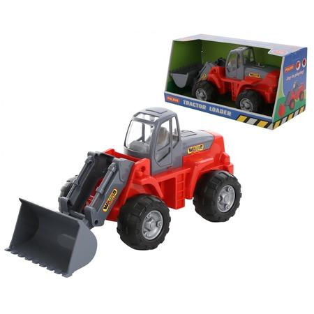 Купить Машинка игрушечная POLESIE «Трактор-погрузчик»