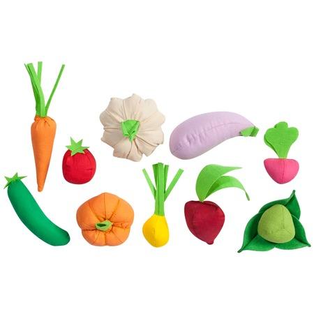 Купить Набор игровых аксессуаров PAREMO «Овощи». Количество предметов: 10 шт