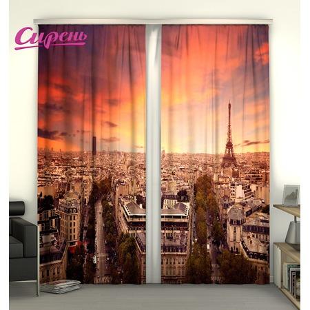 Купить Фотошторы Сирень «Париж»