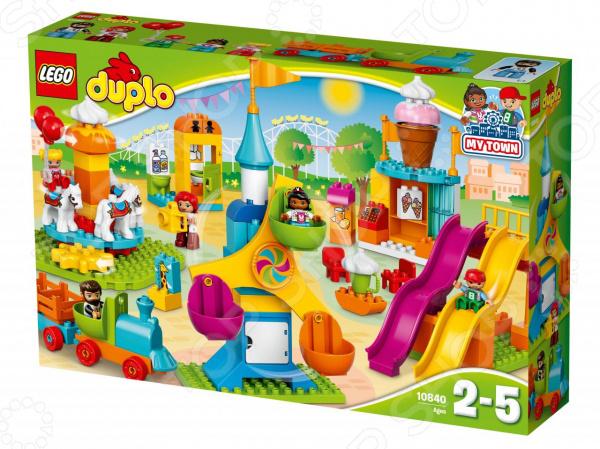 Конструктор для малышей LEGO Duplo «Большой парк аттракционов» конструктор lego duplo town большой парк аттракционов 10840