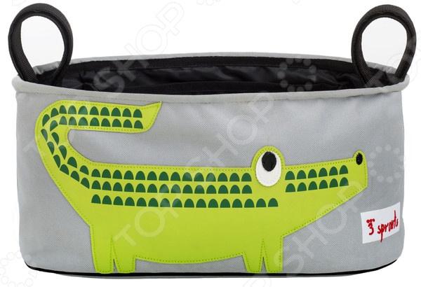 Сумочка-органайзер для коляски 3 Sprouts «Крокодил»
