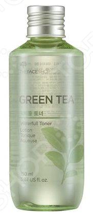 Тонер для лица THE FACE SHOP Green Tea пенка the face shop green tea phyto powder cleansing foam объем 170 мл
