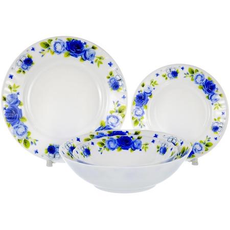 Купить Набор столовой посуды OlAff «Пасадена». Количество предметов: 19