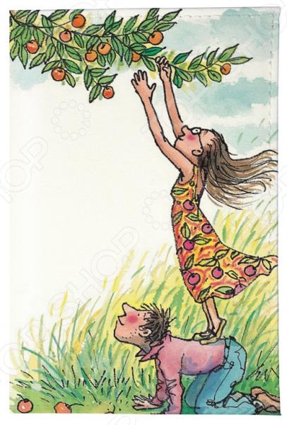 Обложка для автодокументов Mitya Veselkov «День сбора яблок»