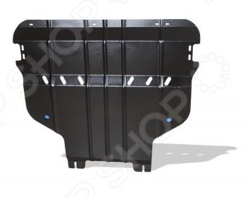 Комплект: защита картера и крепеж Novline-Autofamily Ford Focus 2015: 1,5/1,6/2,0 бензин МКПП/АКПП комплект защита картера и крепеж mazda cx 5 2012 3 2014 1 5 1 6 2 0 бензин мкпп акпп