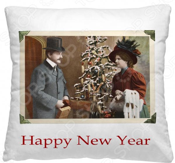 Подушка декоративная Волшебная ночь «Желаю счастья»
