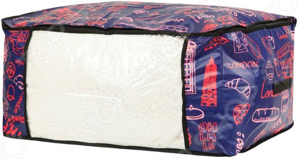 Кофр для хранения одеял и пледов EL Casa «Европа»