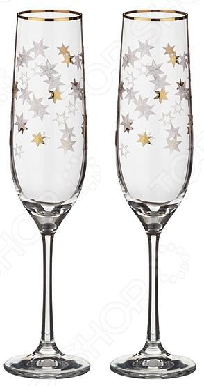 Набор бокалов Bohemia Crystal «Рождественские Звезды» набор бокалов для бренди коралл 40600 q8105 400 анжела