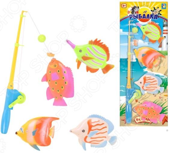 Рыбалка магнитная 1 Toy «Ну, погоди!». В ассортименте