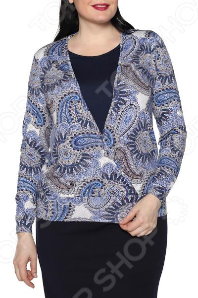 Блуза Ивассорти «Оджи». Цвет: голубой