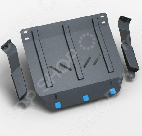 Комплект: защита раздатки и крепеж NLZ Avia D120 2010: 3,9 дизель МКПП
