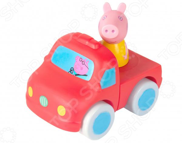 Набор детских игрушек для ванны Peppa Pig «Машинка-конструктор»