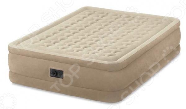 Матрас-кровать надувной со встроенным электронасосом Intex Ultra Plush Bed