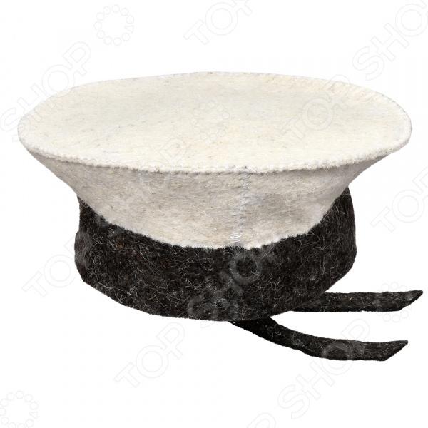 Шапка для бани и сауны Hot Pot «Бескозырка» 41206
