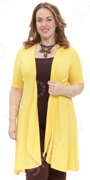 Платье Laura Amatti «Легкое мгновение». Цвет: желтый