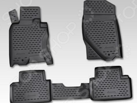 Комплект ковриков в салон автомобиля Novline-Autofamily Infiniti G 35X 2006-2009 комплект ковриков в салон автомобиля novline autofamily kia sorento ii 2006 2009 цвет черный