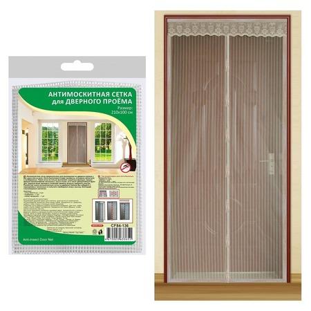 Купить Сетка антимоскитная на дверь Мультидом CF84-136