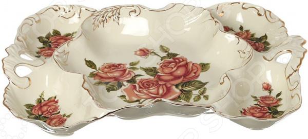 Менажница Lefard «Корейская роза» 126-573
