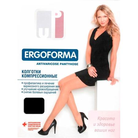 Купить Колготки медицинские эластичные компрессионные Ergoforma EU 112. Цвет: черный
