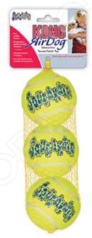 Игрушка для собак Kong Air «Теннисные мячи» мячи теннисные wilson australian open wrt119800
