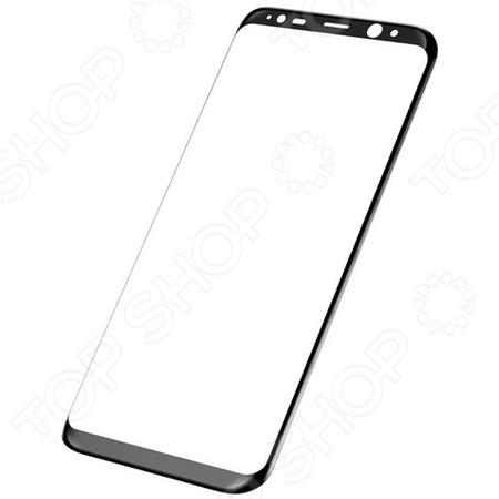 Стекло защитное 3D Media Gadget полноклеевое для Samsung Galaxy S8 Plus стекло защитное 3d media gadget полноклеевое для samsung galaxy s9 plus