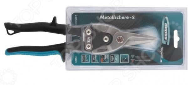 Ножницы по металлу GROSS Piranha 78325 заклепочник усиленный gross 40409