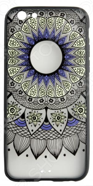 Накладка защитная для iPhone skinBOX Apple iPhone 6/iPhone 6S чехлы для телефонов skinbox накладка skinbox silicone carbon для apple iphone 7