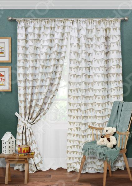 Комплект штор Kauffort Hampton-S шторы kauffort классические шторы barolo