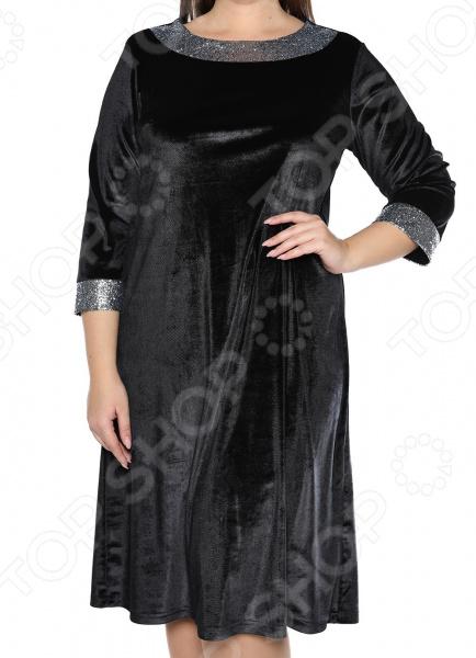 Платье Лауме-Лайн «Огни стиля». Цвет: черный