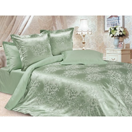 Купить Комплект постельного белья Ecotex «Эстетика. Летний сад». Евро